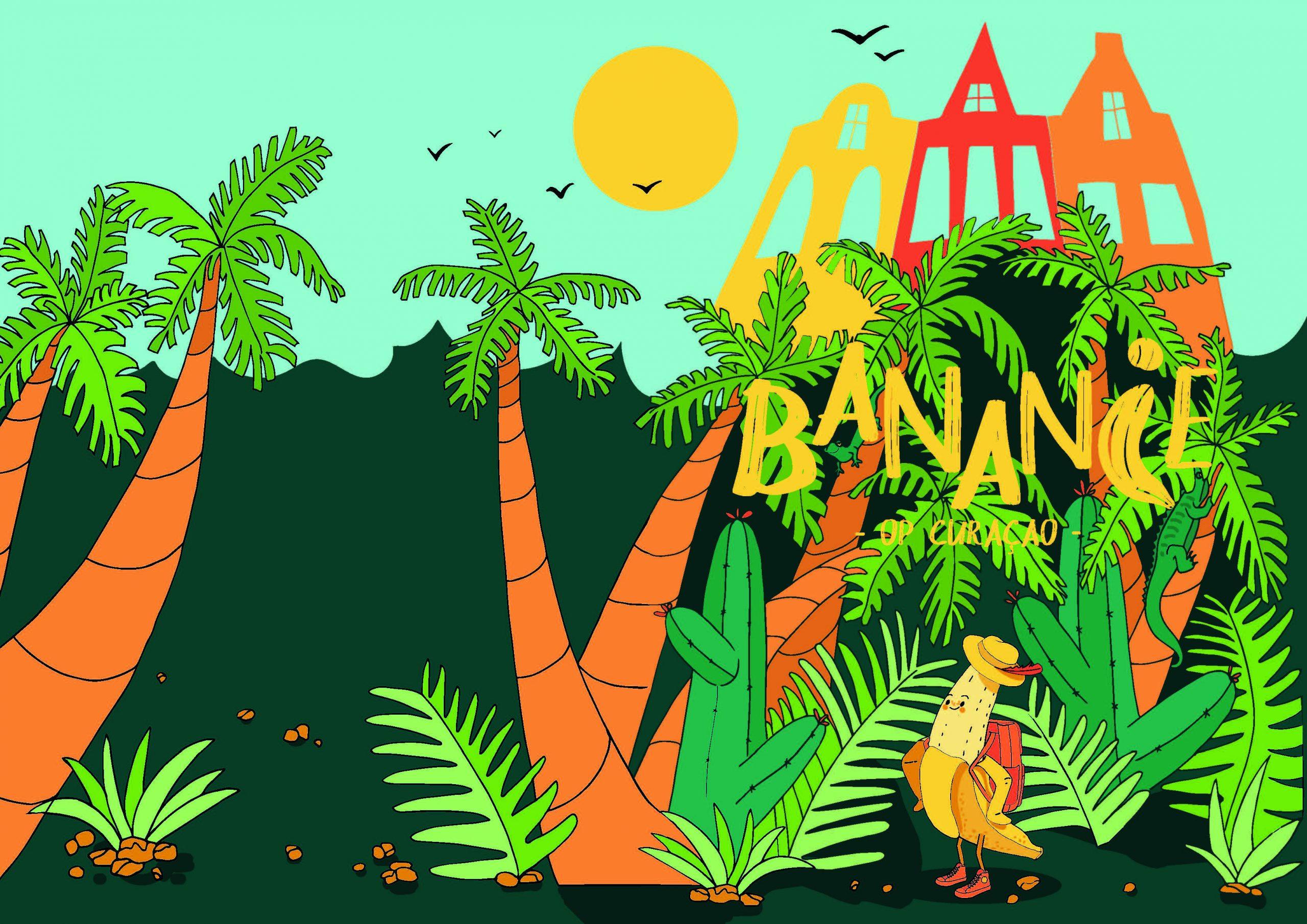 bananie illustratie